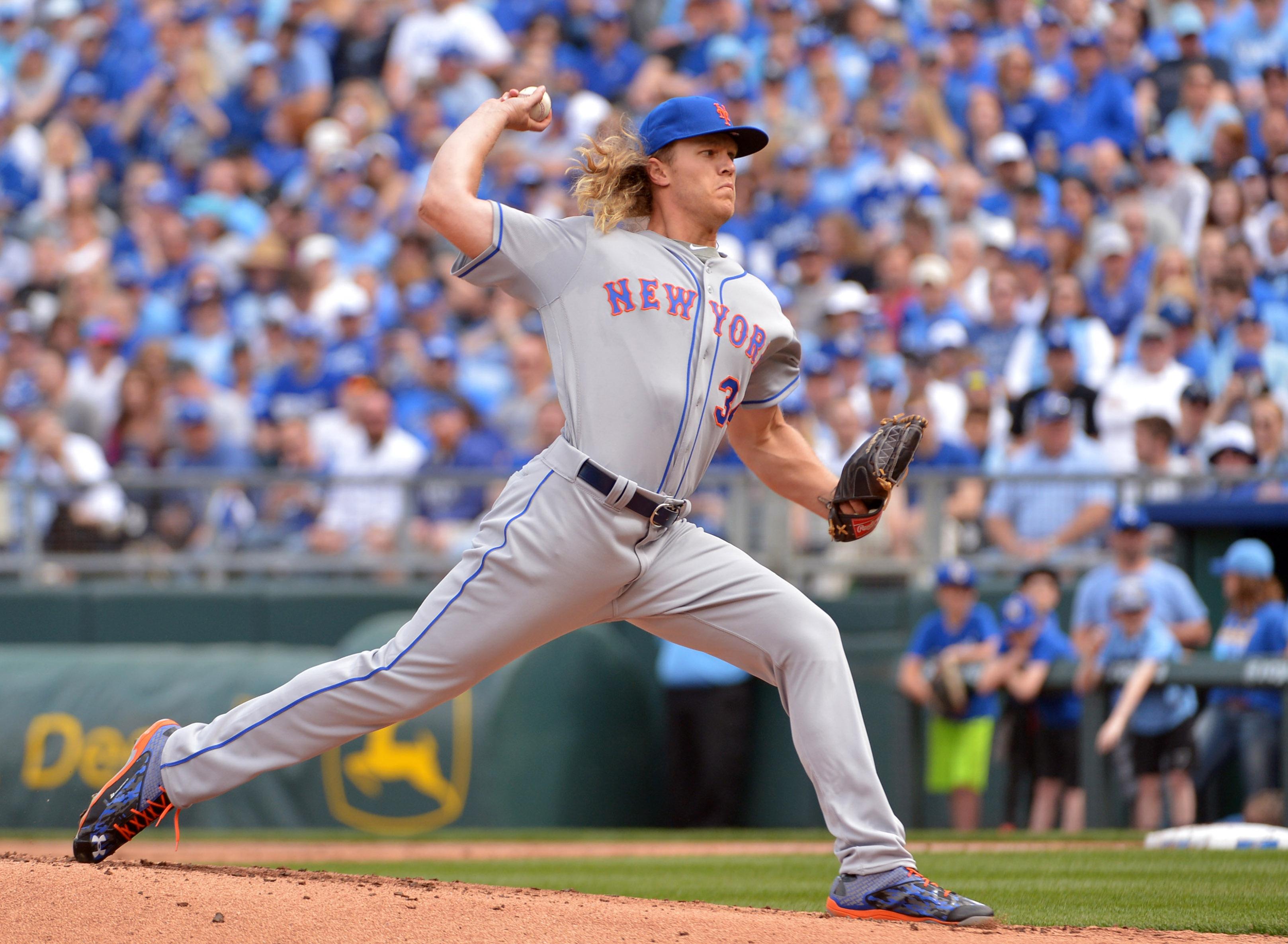 MLB: New York Mets at Kansas City Royals