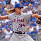 MLB: New York Mets at Kansas City Royals