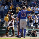 MLB: Game one-New York Mets at Pittsburgh Pirates