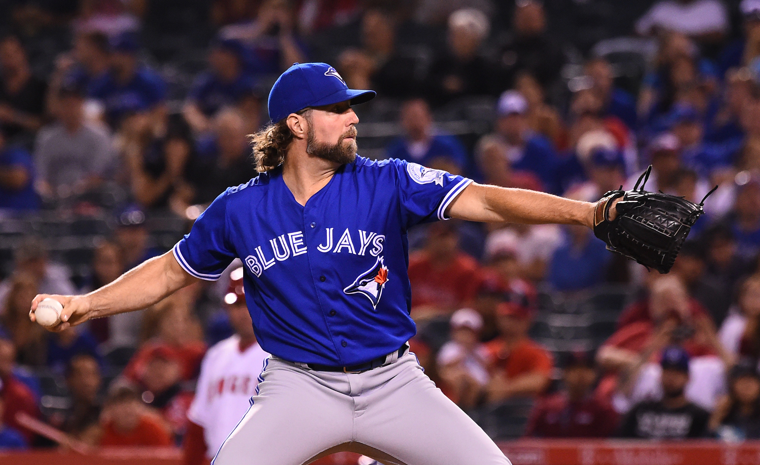 MLB: Toronto Blue Jays at Los Angeles Angels