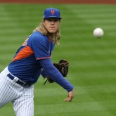MLB: New York Mets Workout