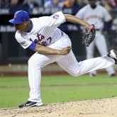 MLB: NL Wild Card-San Francisco Giants at New York Mets