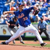MLB: Spring Training-Houston Astros at New York Mets
