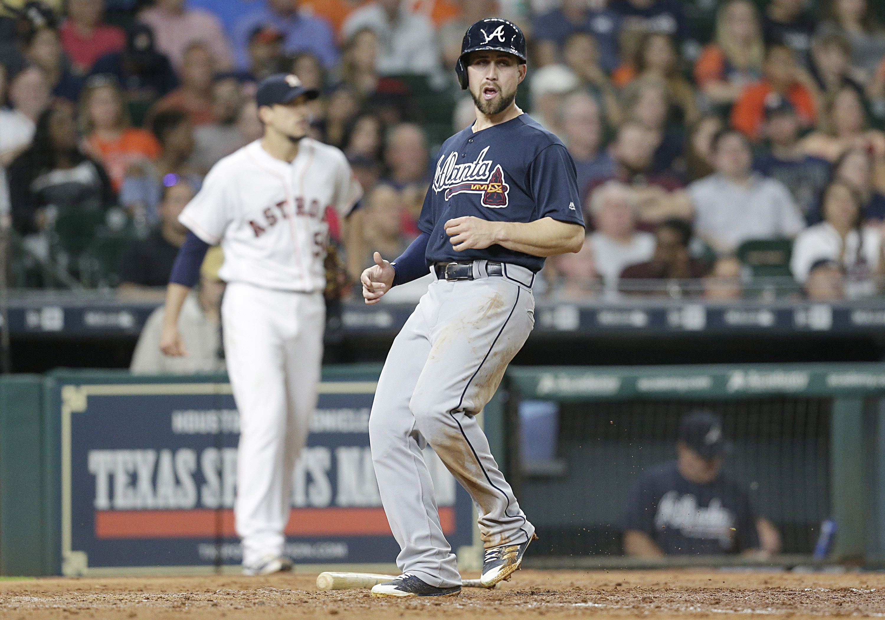 MLB: Atlanta Braves at Houston Astros
