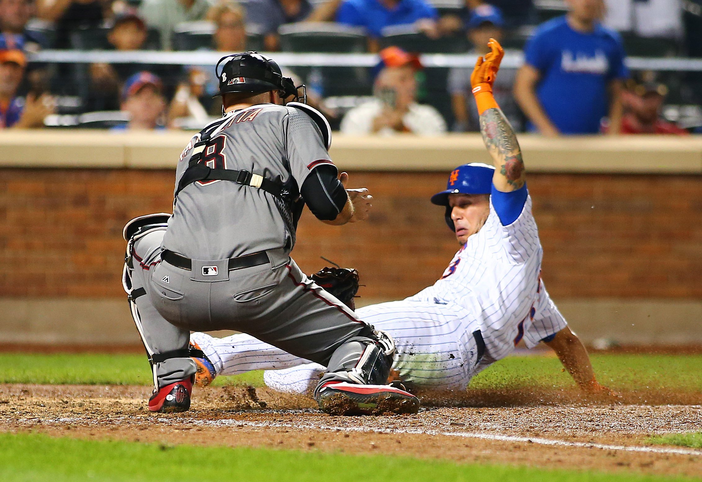 MLB: Arizona Diamondbacks at New York Mets