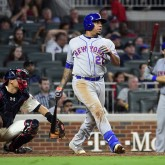MLB: New York Mets at Atlanta Braves