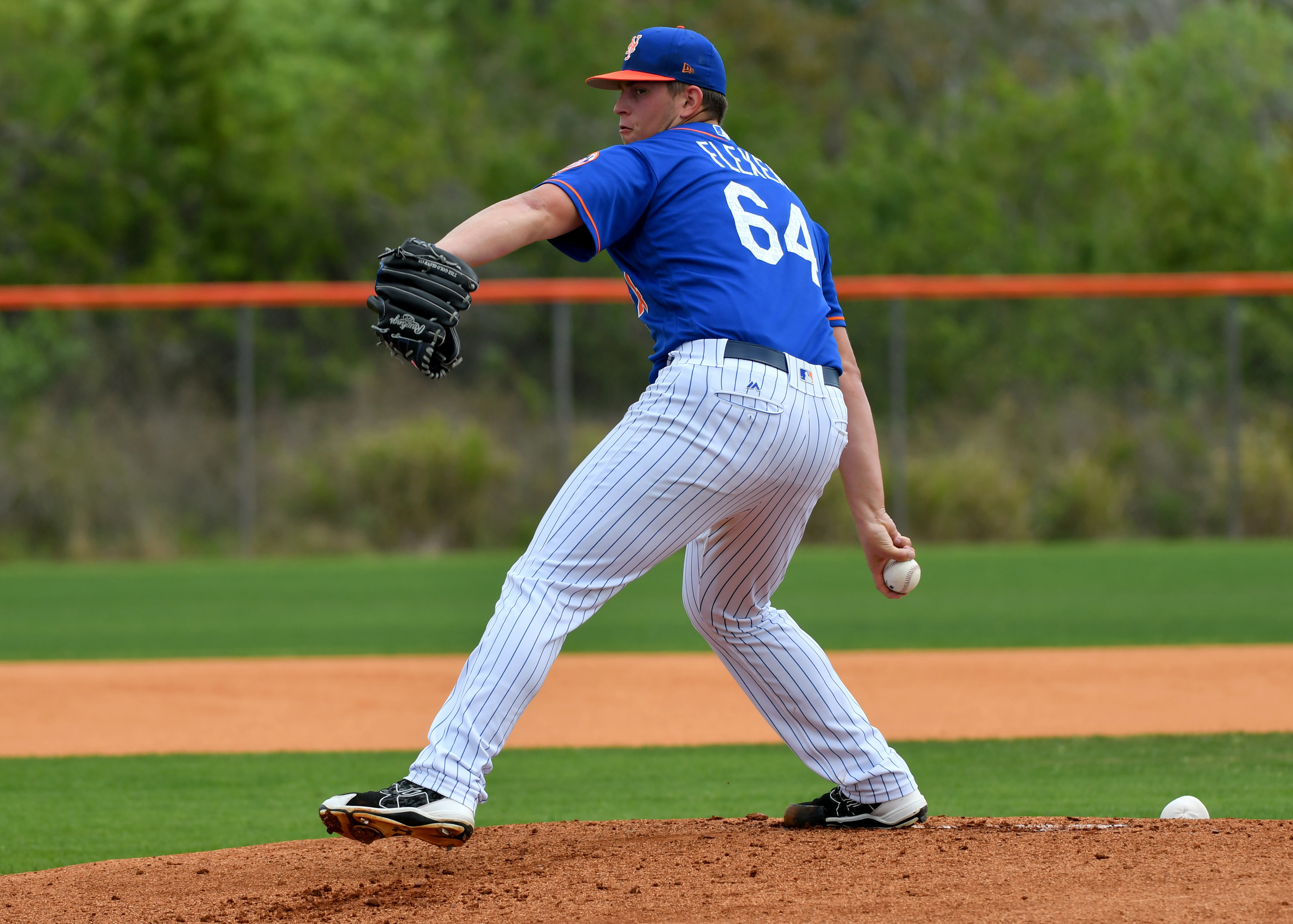 MLB: New York Mets-Workouts