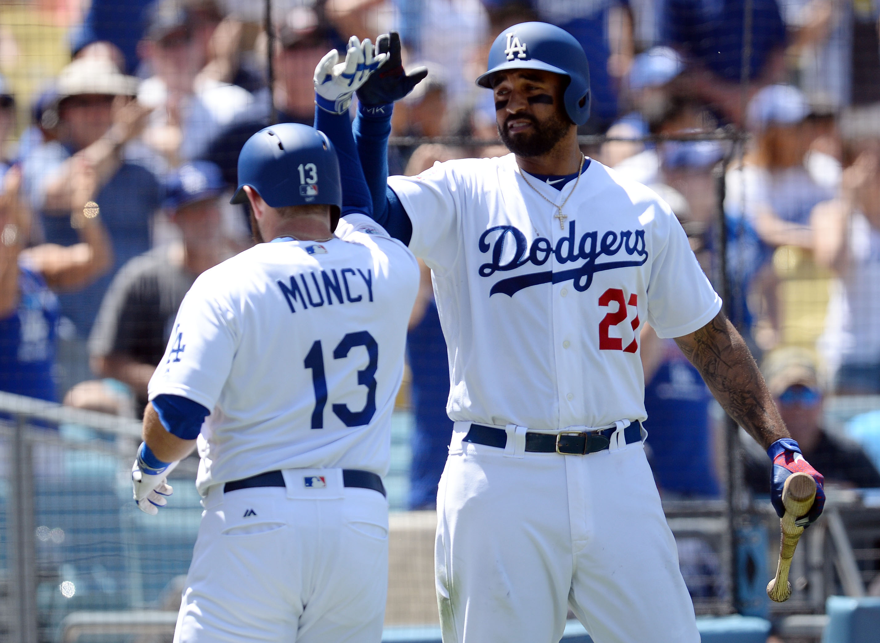 MLB: Atlanta Braves at Los Angeles Dodgers