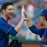 MLB: Game One-New York Mets at Philadelphia Phillies