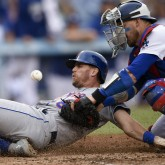 MLB: New York Mets at Los Angeles Dodgers
